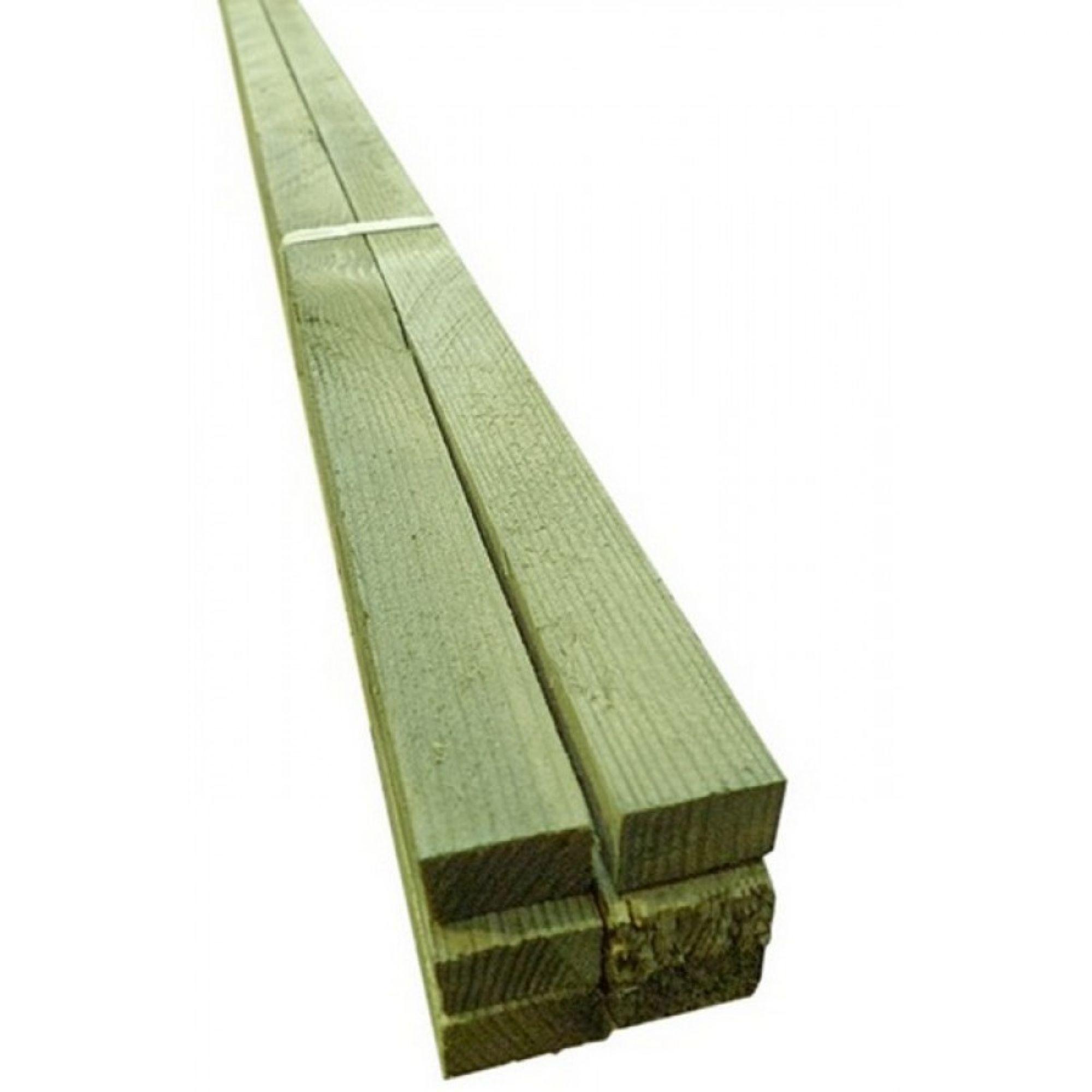 Tasseau Bois Exotique Exterieur pin autoclave pour l'exterieur : traitement autoclave cl. 4